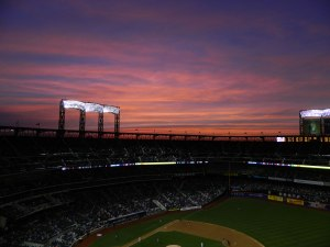 Citi Field sunset (Photo credit: Paul Hadsall)