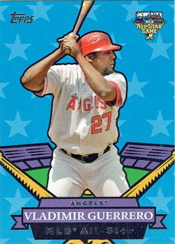 Vladimir Guererro's 2007 Topps All-Star insert card