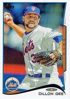 Dillon Gee's 2014 Topps baseball card