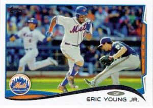 Eric Young Jr.'s 2014 Topps baseball card