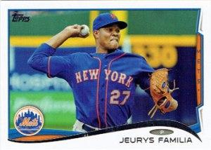 Jeurys Familia's 2014 Topps baseball card