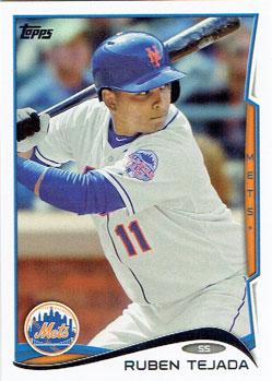 Ruben Tejada's 2014 Topps baseball card