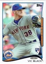 Vic Black's 2014 Topps baseball card