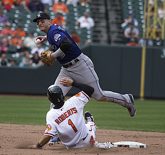 Colorado Rockies shortstop Troy Tulowitzki (Photo credit: Keith Allison)