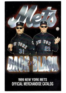Cover of the New York Mets 1999 Official Merchandise Catalog