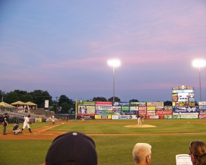 Arm & Hammer Park on the last night of June (Photo credit: Paul Hadsall)