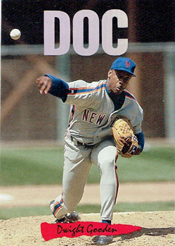 1993 Donruss Triple Play Doc Gooden insert card