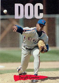 1993 Donruss Triple Play Doc Gooden insert card