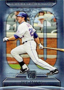 2011 Topps 60 Ike Davis insert card