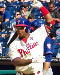 Marlon Byrd (Photo credit: Paul Hadsall)