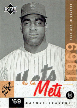 Tommie Agee's 2001 Upper Deck Legends of New York baseball card