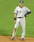 Derek Jeter, during his final Subway Series at Cifi Field (Photo credit: Paul Hadsall)