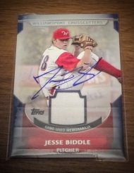 Autograph of the Week: Phillies prospect Jesse Biddle