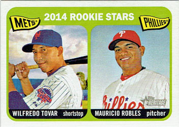 Wilfredo Tovar's 2014 Topps Heritage card (from my collection)