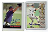 Early Billy Wagner autographs