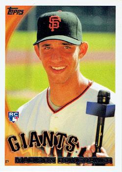 Madison Bumgarner's 2010 Topps baseball card