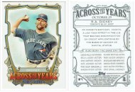 Baseball Card of the Day: 2013 Allen & Ginter Across the Years R.A. Dickey