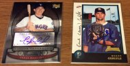New additions to my Mets autograph collection: Taylor Teagarden & BuddyCarlyle