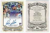 Baseball card of the day: 2014 Gypsy Queen Wilmer Flores autograph