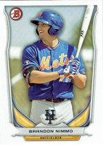 Brandon Nimmo's 2014 Bowman Draft baseball card