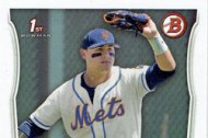 Mets baseball cards from 2014's Bowman Draft set