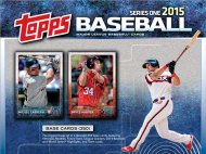A Mets fan's first impressions of the 2015 Topps Series 1 checklist