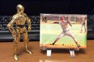 Four random Mets baseballcards