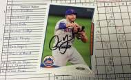 Mets autograph of the moment: Omar Quintanilla