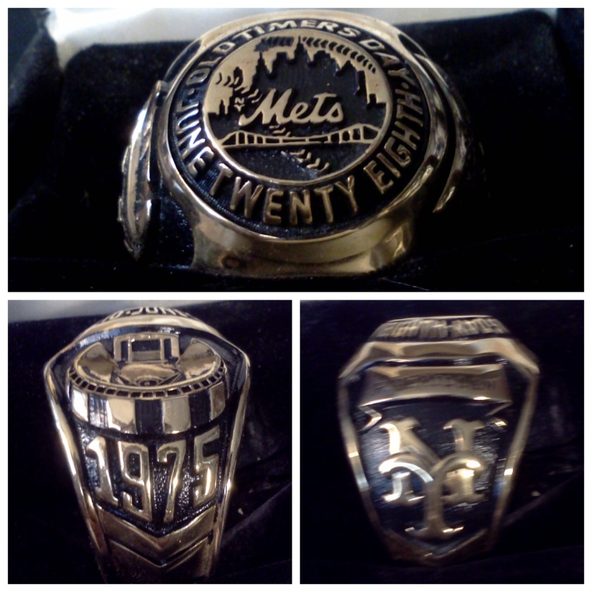 Roy McMillan Old Timer's Day Ring