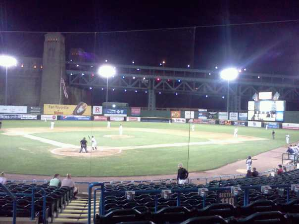 Night view of Campbell's field  (Photo credit: Paul Hadsall)