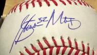 Steven Matz autographsigning