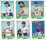 2015 Topps Archives Mets baseball cards