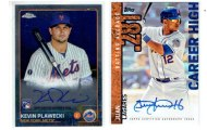 Latest Mets autograph collection update: Juan Lagares & KevinPlawecki