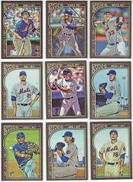 2015 Topps Gypsy Queen Mets baseball cards