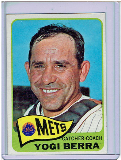 Mets Baseball Card of the Week: 1965 Topps Yogi Berra