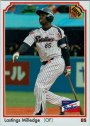 Lastings Milledge's 2013 BBM baseball card